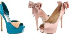Sivri Topuklu Ayakkabı Modelleri 2014