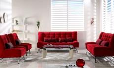 2014 Kırmızı Oturma Grubu Modelleri