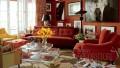 Kırmızı Ev Dekorasyon Örnekleri