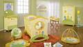 Renkli Bebek Odası Dekorasyonu