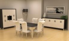 2014 İpek Mobilya Yemek Odası Modelleri
