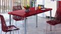 2014 Renkli Mutfak Masası Modelleri