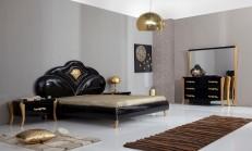 2014 Siyah Yatak Odası Modelleri