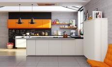 2014 Modern Renkli Mutfak Modelleri