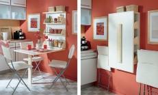 Duvara Monte Mutfak Masası Modelleri