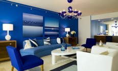 Mavi Ev Dekorasyon Örnekleri