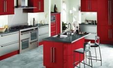 Modern Kırmızı Mutfak Modelleri