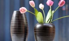Dekoratif Yeni Moda Siyah Vazo Modelleri