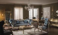 13 Muhteşem Klasik Tarz Salon Dekorasyon Modeli