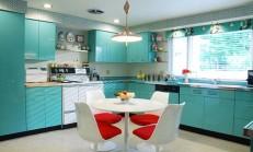 12 Modern Renkli Mutfak Örneği