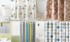 Modern Duş Perdesi Modelleri