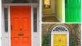 Evlerde Renkli Kapı Modası