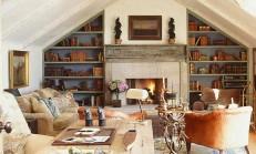 Oturma Odalarına Rustik Hava Katacak Öneriler