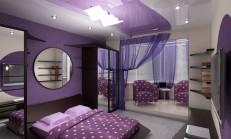 Yatak Odasında Mor Rengin Büyüsü
