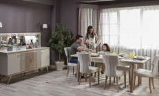 Yemek Odası Dekorasyonunda Canlı Renklerin Kullanımı