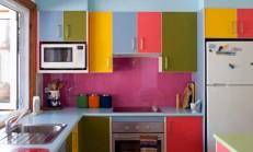 Renkli Mutfak Dekorasyonu