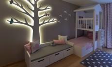 Bebek Odası Ahşap Duvar Süsleri