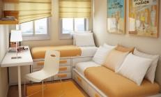 Modern ve İlgi Çekici Küçük Oda Tasarımları İçin İpuçları