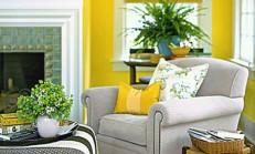 Dekorasyonda Cesur Adımlar, Evde Sarı Renk Kullanmak