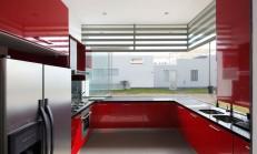 Kırmızı Mutfak Modelleri