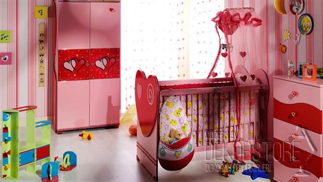 İstikbal Prenses bebek odası takımı