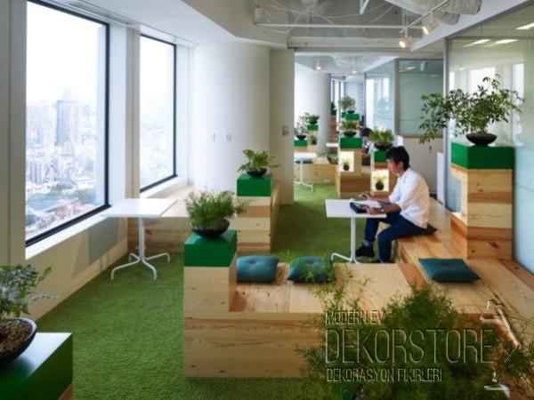 google ofis dekorasyonları