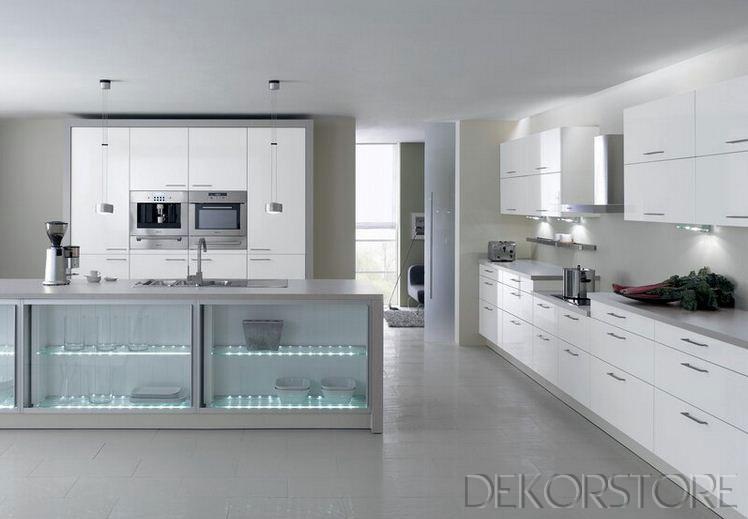 beyaz ankastre mutfak modelleri 2014