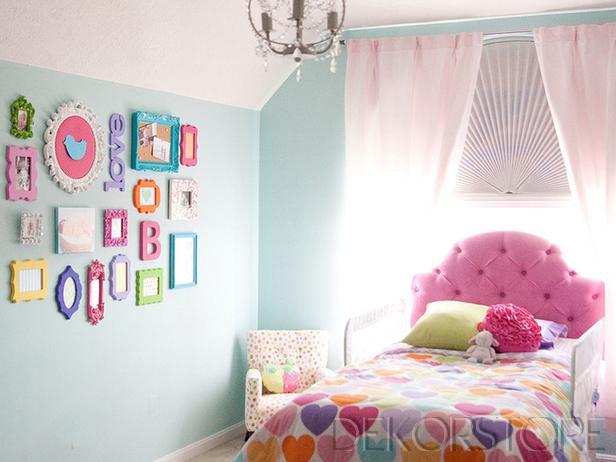 Renkli Çocuk Odası Modelleri 2014