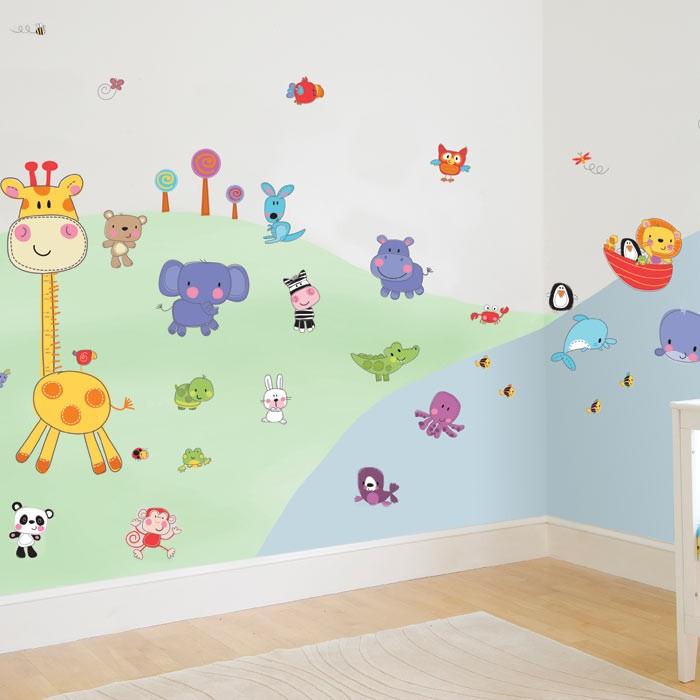 Çocuk Odası Duvar Sticker Modelleri