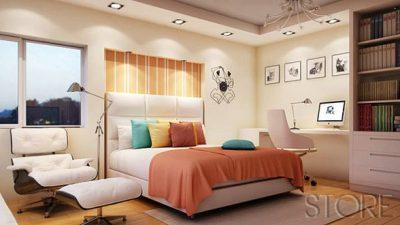 Dekoratif Yatak Odası Modelleri