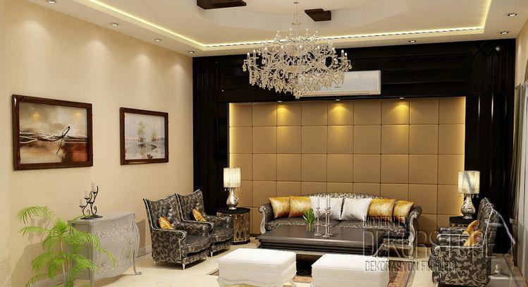 Dekoratif Asma Tavan Modelleri 2014