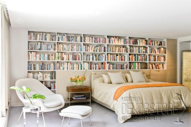 Dekoratif Kitaplık Modelleri 2014