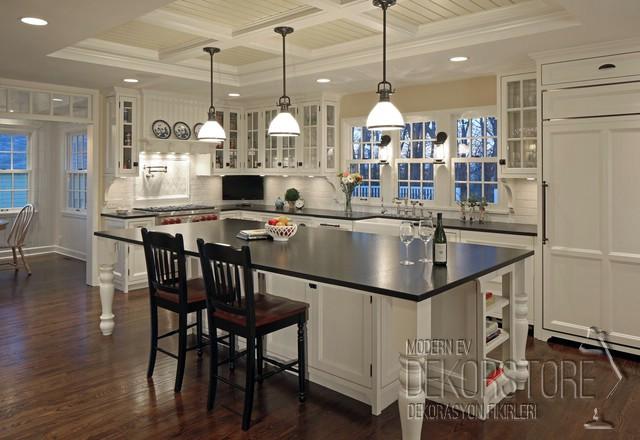 çok şık amerikan mutfak modeli - DekorStore