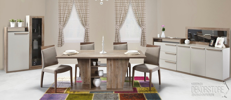 2014 yemek odası modelleri ve fiyatları