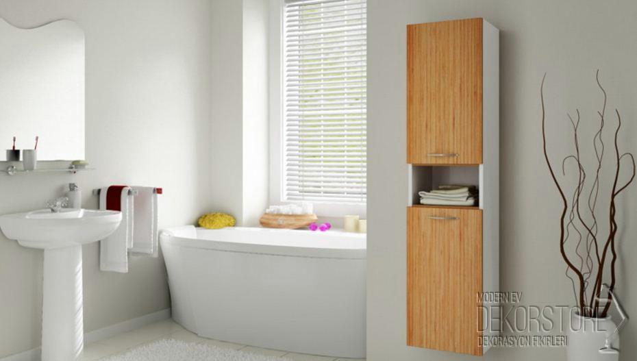 Banyo Dolabı Modelleri 2014