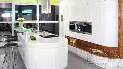 Gözalıcı Beyaz Mutfak Tasarımları