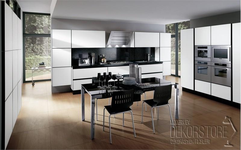 Beyaz Mutfak Modelleri 2014