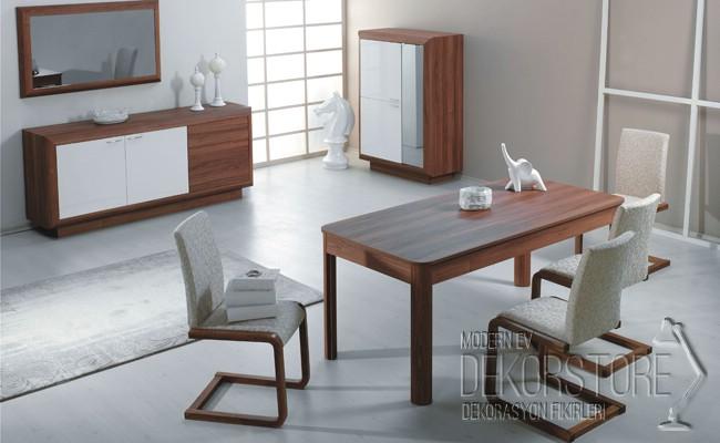 Kelebek yemek odası modelleri 2014