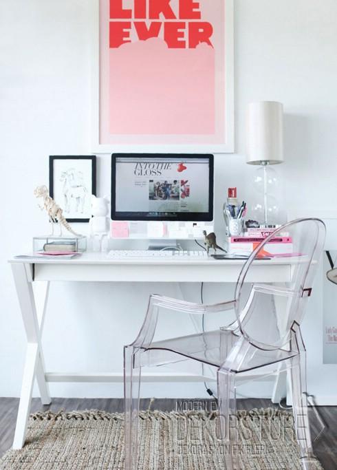 dekoratif bilgisayar masası 2014