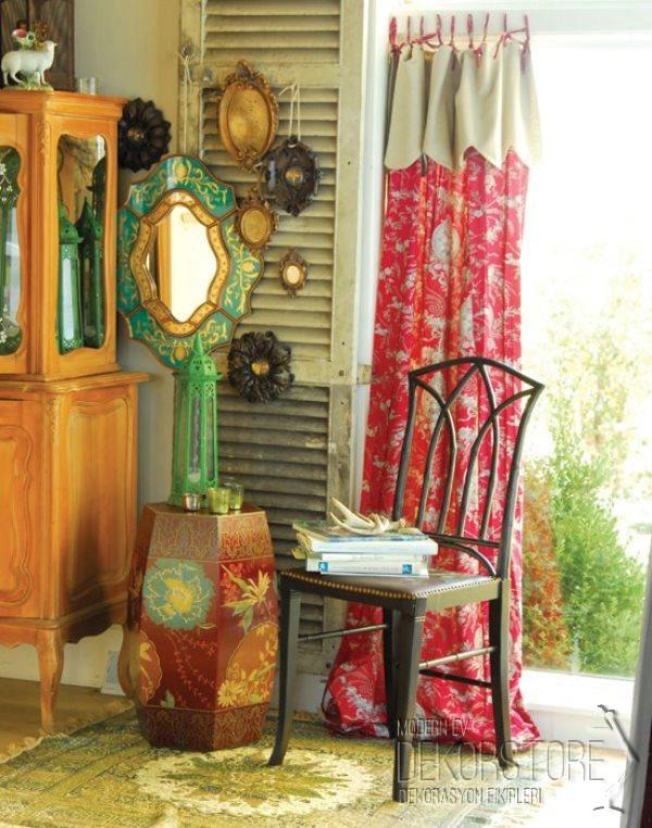 Bohem stili ev dekorasyonu