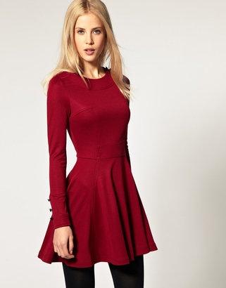 1f9eceea1cd59 bordo kışlık elbise modeli - DekorStore