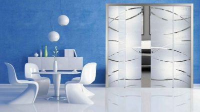 Dekoratif Cam Kapı Modelleri 2014