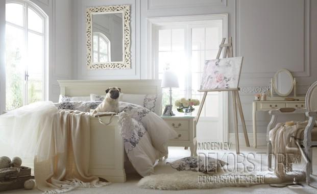 Fransız Vintage Yatak Odası Dekorstore