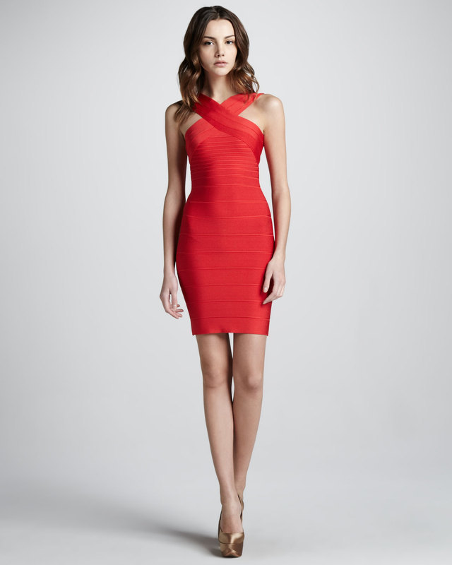 220cd8515a3cc kısa kırmızı straplez elbise modelleri - DekorStore