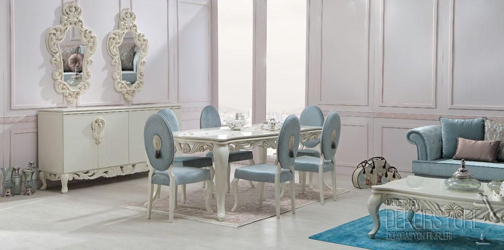 zebrano mobilya yemek odası modelleri 2014