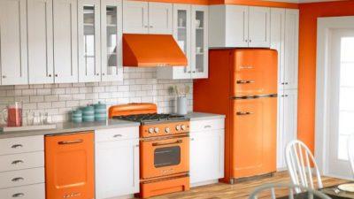 Retro Stili Mutfak Dekorasyonları