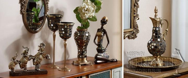 dekoratif salon aksesuar modelleri 2014