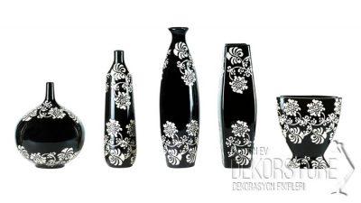 Siyah Dekoratif Vazo Modelleri