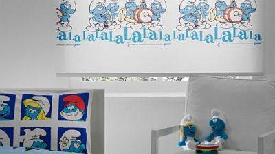 Taç Çocuk Odası Stor Perde Modelleri