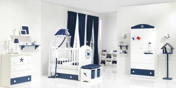 denizci bebek odası dekorasyonu